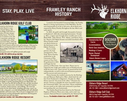 Elkhorn Ridge Brochure