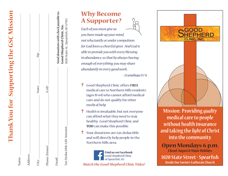 Good Shepherd Clinic Brochure