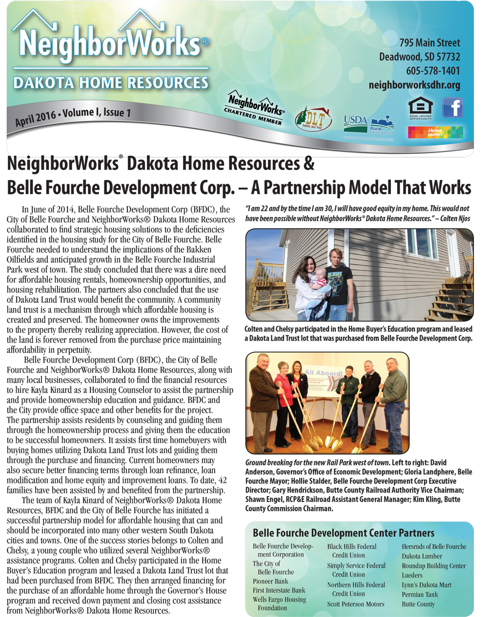 Neighborworks® Dakota Home Resources Newsletter