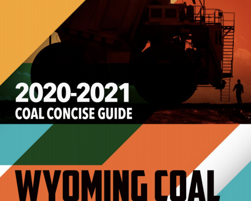 2020-21 Wyoming Mining Concise Guide to Coal