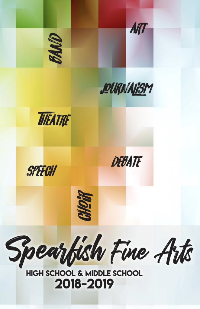 Fine Arts Program cover 2018-19