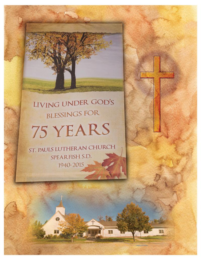 St. Paul Lutheran Church 75 Year History Book