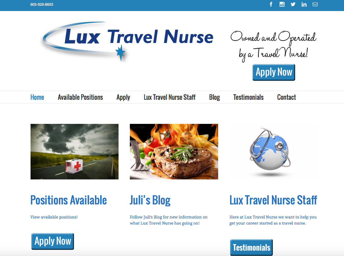 Lux Travel Nurse